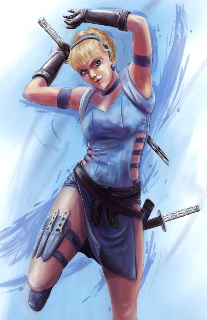 Disney Fighter - Cinderella by joshwmc