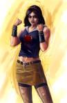 Disney Fighter - Snow White by joshwmc
