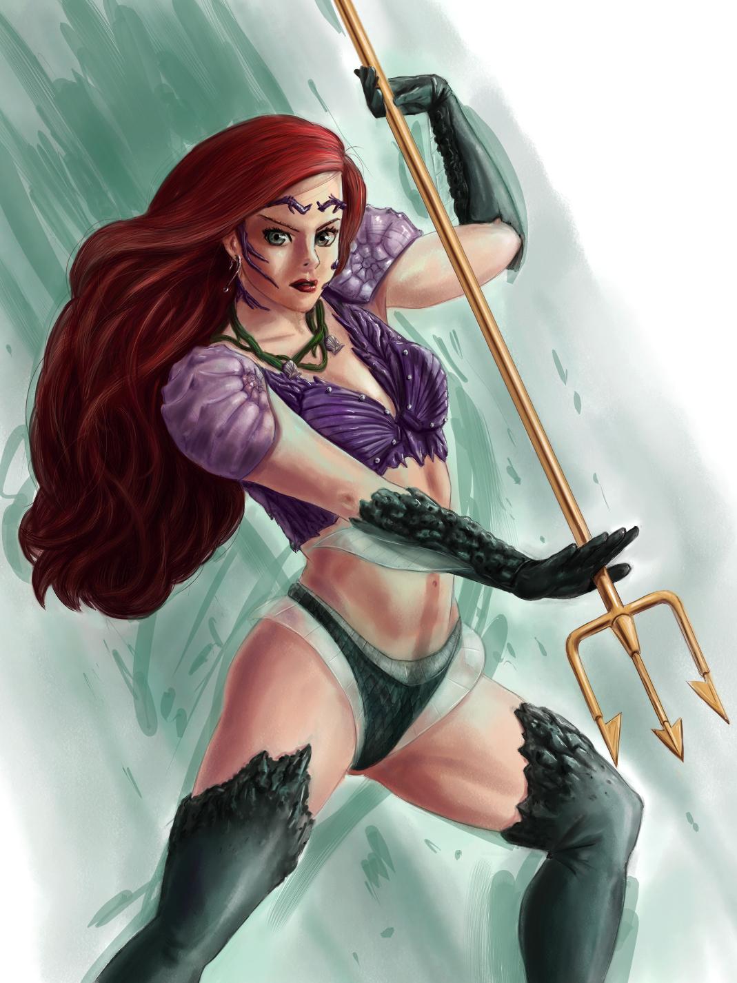 Disney Fighter - Ariel by joshwmc