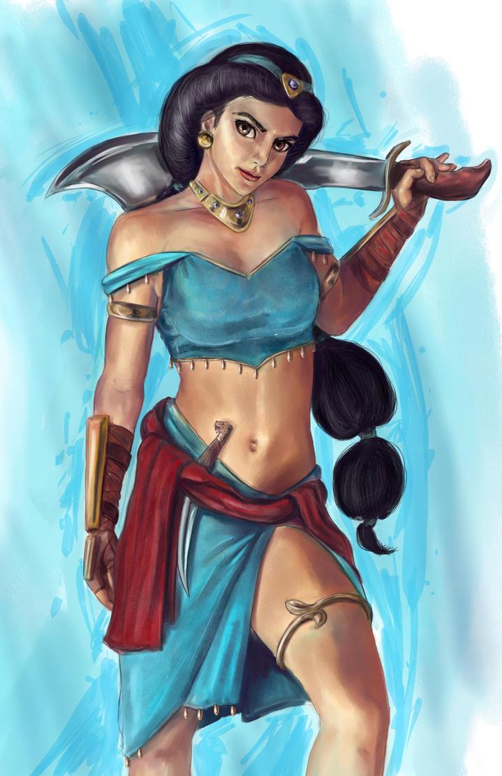 Disney Fighter - Jasmine by joshwmc