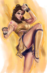 Disney Fighter - Belle by joshwmc