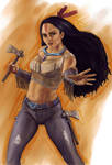 Disney Fighter - Pocahontas