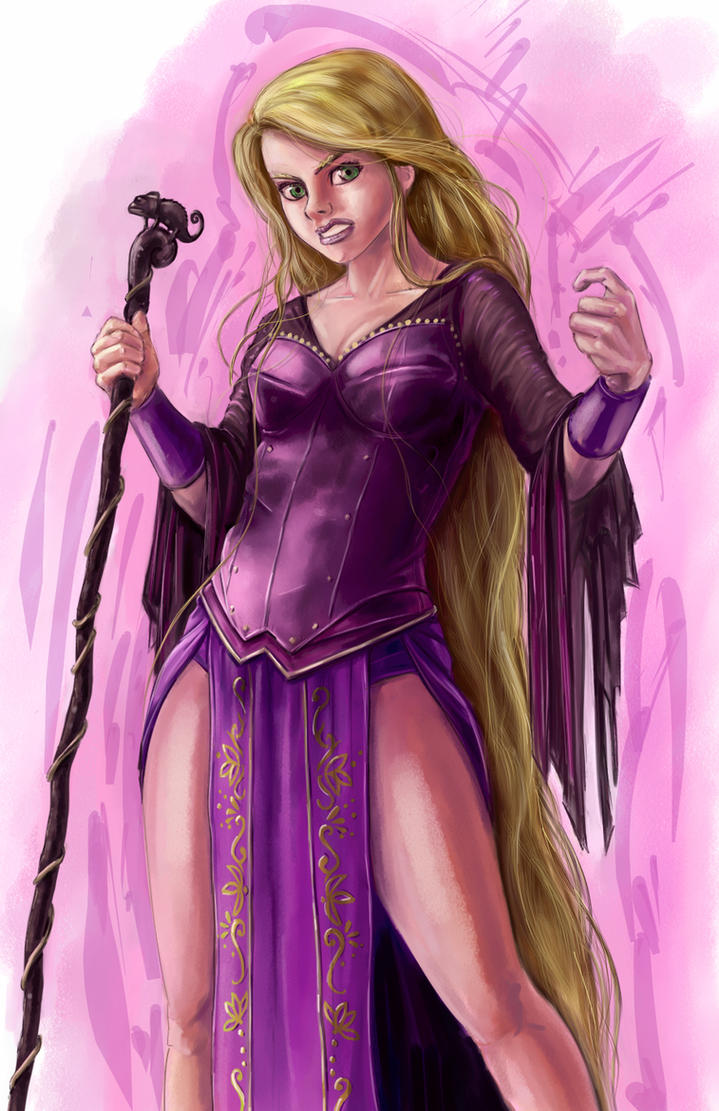 Disney Fighter - Rapunzel by joshwmc