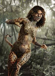 Cheetah Wonder Woman 84 Movie Concept