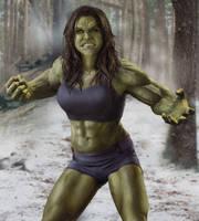 If Women Ruled The World - Lady Hulk by joshwmc