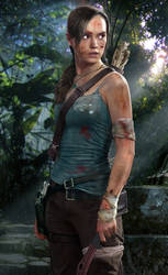 Lara Croft Tomb Raider Concept