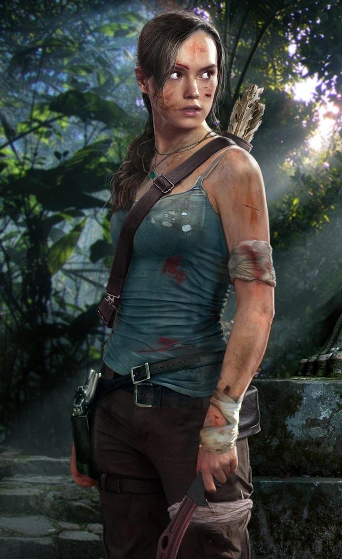 Lara Croft Tomb Raider Concept by joshwmc