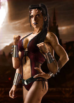 Sheeva Mortal Kombat Movie Concept