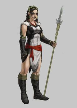 Tribal Elf Comic Concept