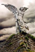 Angel Cementerio de Comillas by Andrarena