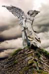 Angel Cementerio de Comillas