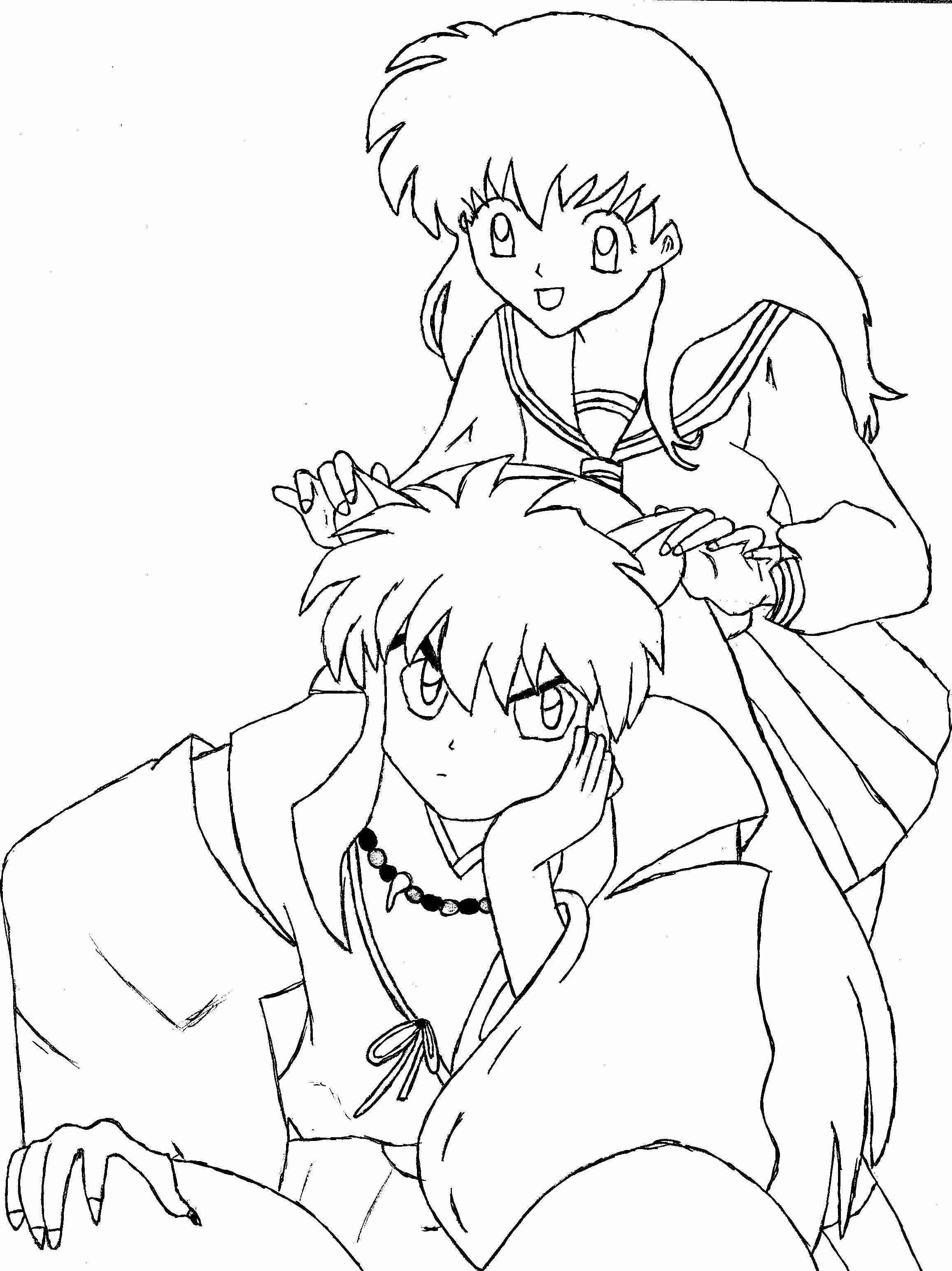 Inuyasha And Kagome By Hermione72141