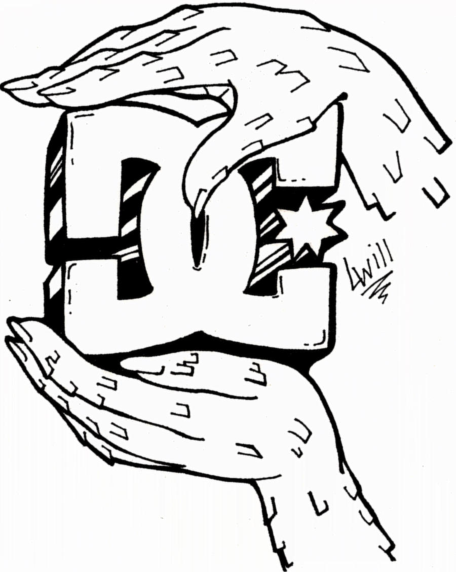 Dc Shoes Logo Drawings Related Keywords Suggestions Dc Shoes