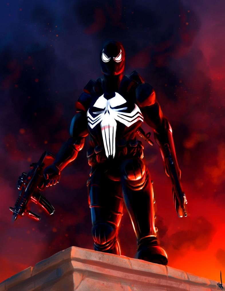 Punisher venom by Perronegro300