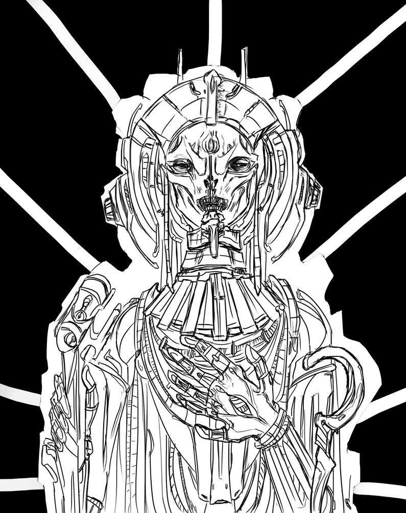 Ancient Astronaut by Perronegro300 on DeviantArt