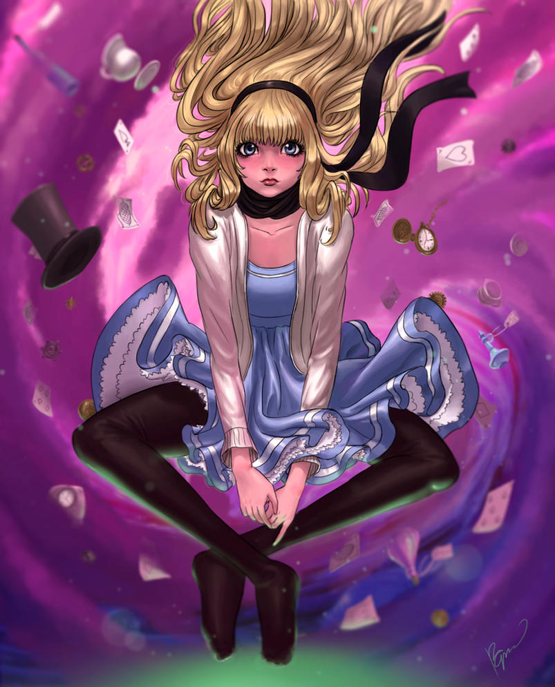 Alice in the vortex by Perronegro300