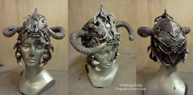 Wildling Helm by organicarmor