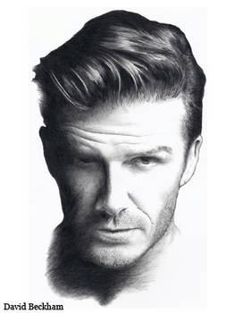 David Beckham in Pencil