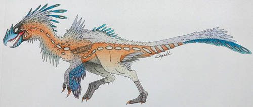 Beaked theropod concept