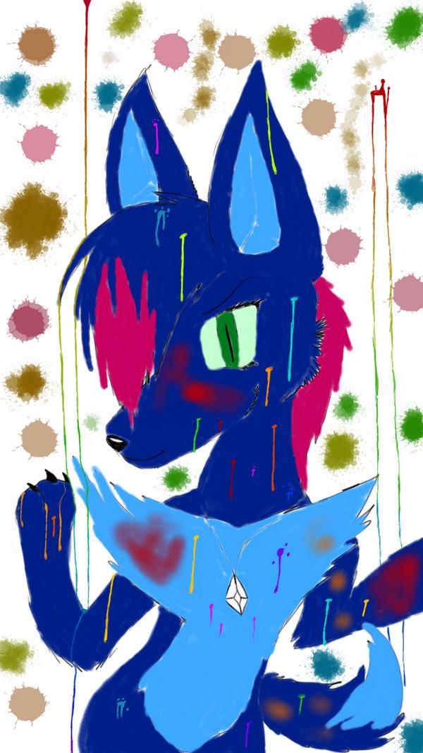 Frisky the Fox by DarkWolfAlpha908