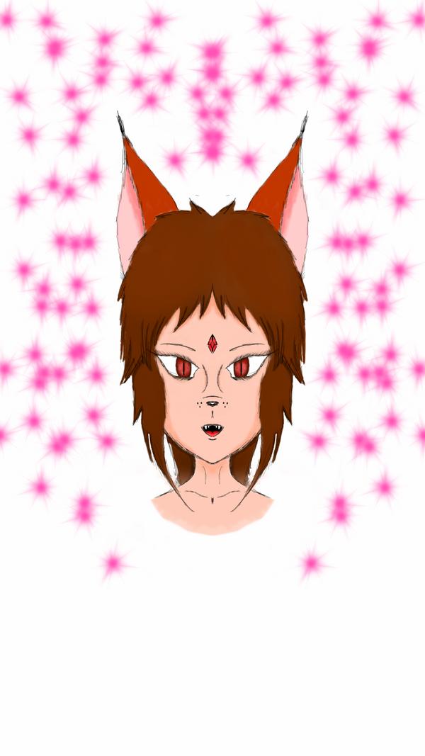 Layla the Fox Demon by DarkWolfAlpha908