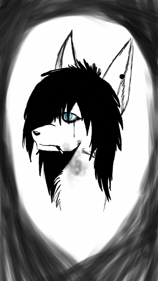 Andy the wolf by DarkWolfAlpha908