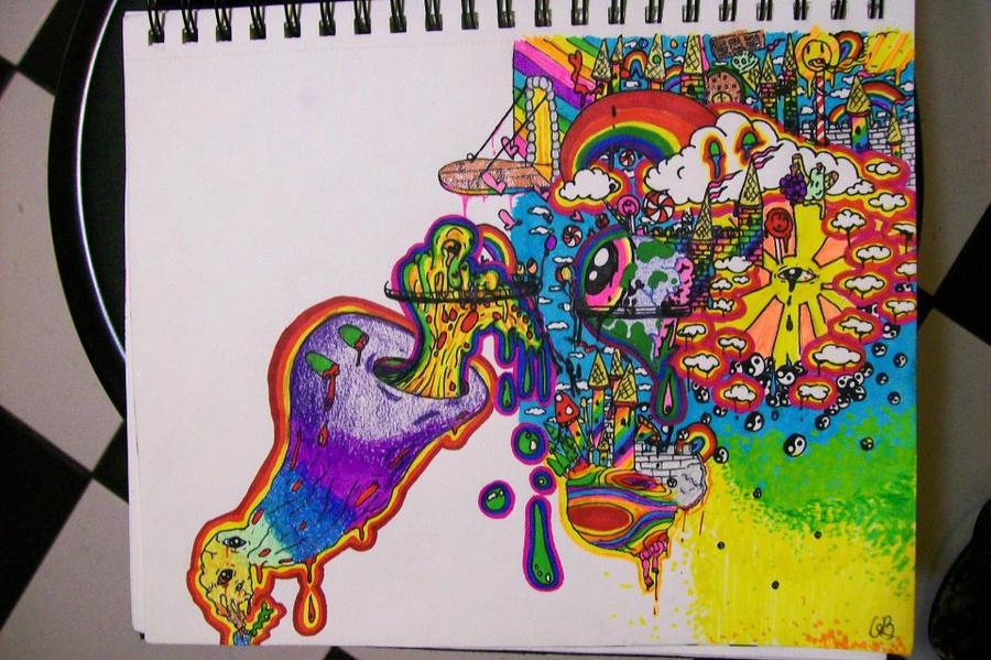 Acid Trip By Eatbrains4satan