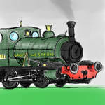 GWR Pug Coloured