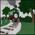 Narrow Gauge Scene Revised