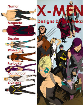 X-Men by Kris Anka
