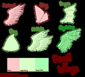 Degil Wing Traits by SyriuslySoft