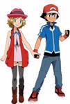 Serena and Ash 3
