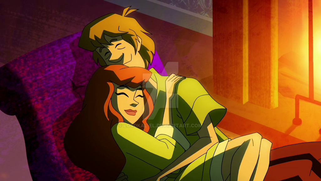 Scooby Doo Daphne And Shaggy Daphne and Shaggy by L...