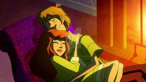 Daphne and Shaggy