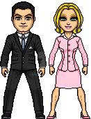 Darrin y Samantha Stephens by LordKal-El