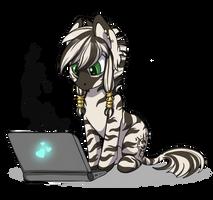 zebra Poe by Ashley-Arctic-Fox