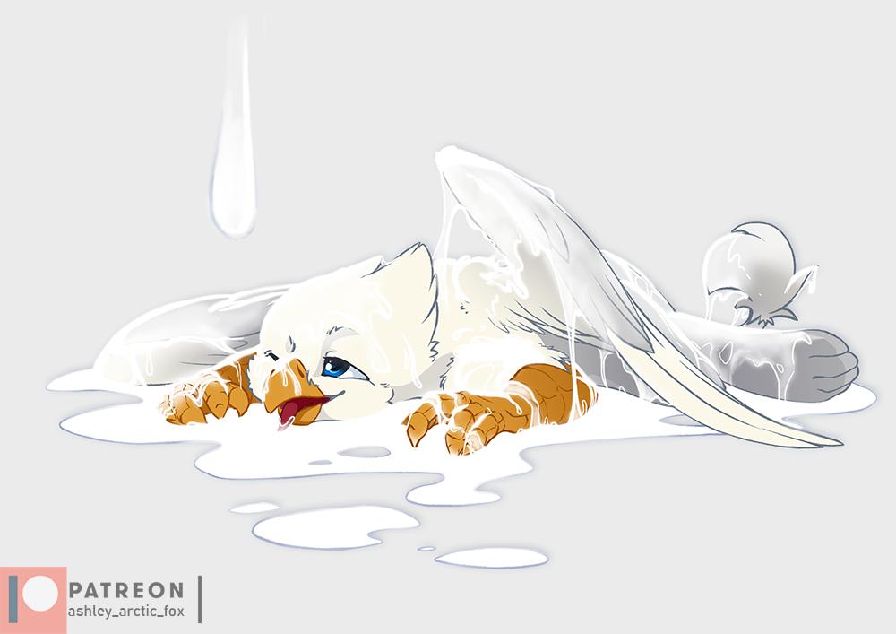 Its not cream by Ashley-Arctic-Fox