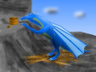 Cookie Dragon by Seb-Eisdrache