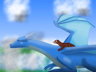 Dragonrider by Seb-Eisdrache
