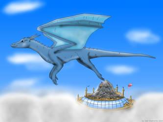 Seb Icedragon fly by Valesis by Seb-Eisdrache