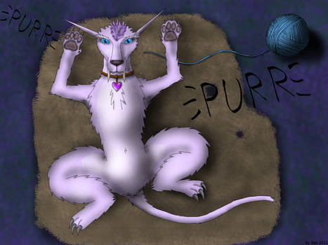 my WoW Char purrs