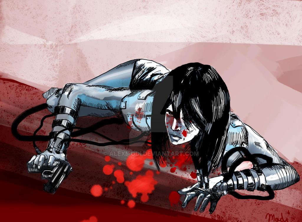 Blood Girl by alexmodi