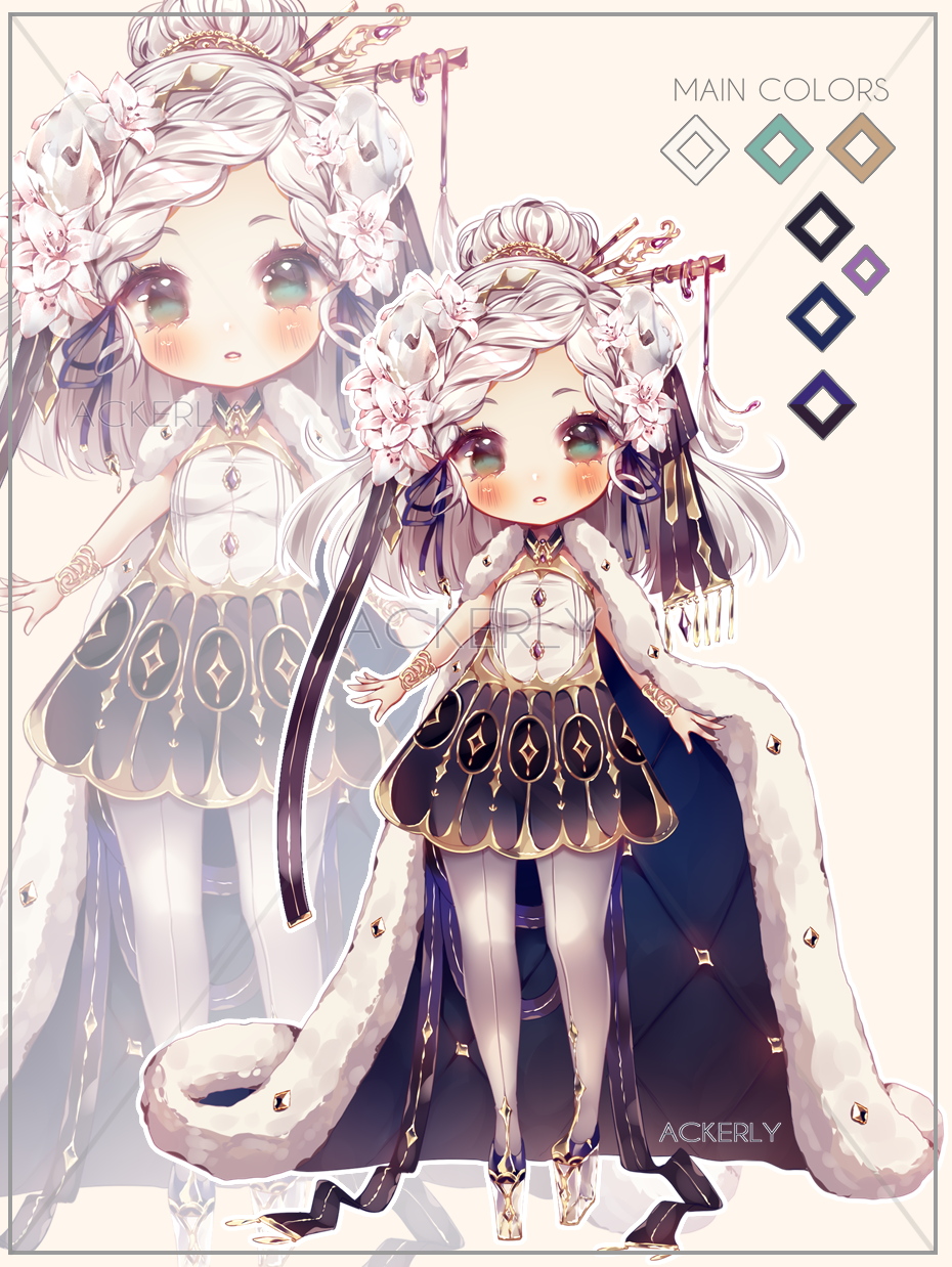 Adoptable #10 Crystal Lily   Auction [CLOSED TY!]