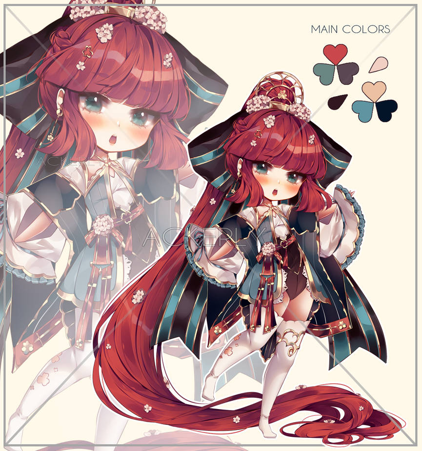 Adoptable #11 White Clover   Auction [CLOSED TY!]