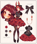 Adoptable #17 Red Lace | Set Price [CLOSED]