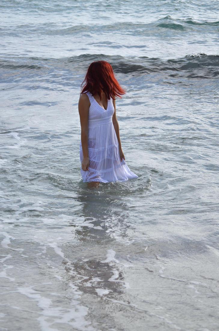 white sea lady3 by sempiterna-stock