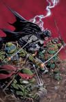 Batman and Ninja Turtles