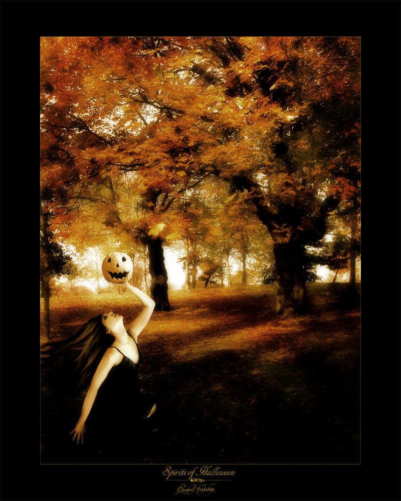 Spirits of Halloween by ischarm