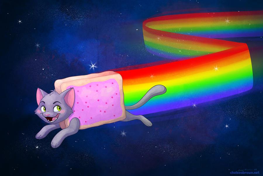 Nyan Cat by autogatos