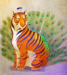 Peacock Tiger